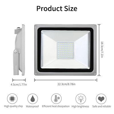 LED Flutlicht Fluter Strahler SMD Außen Scheinwerfer 10W 20W 30W 50W 100W 1000W 5