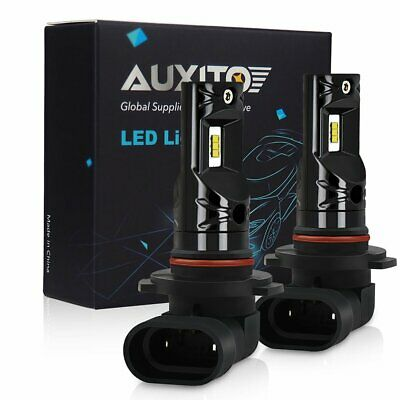 2x AUXITO H10 9140 9145 CSP LED Fog Light DRL Replace Halogen Lamp Globes 6000K 12