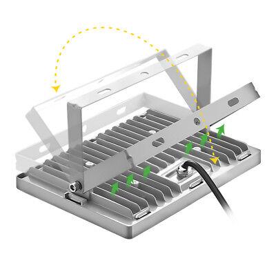 LED Fluter Flutlicht Strahler 10W 20W 50W 100W 500W Außen Scheinwerfer UltraDünn 6