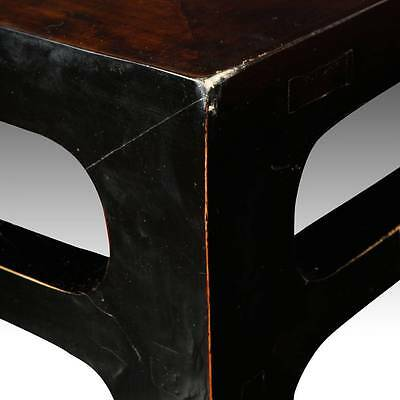Antique Chinese Qing Dining Room Table Elm Wood Furniture Shanxi China 19Th C. 5