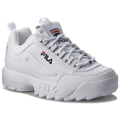FILA DISRUPTOR LOW scarpe donna ragazzo sportive sneakers running basket pelle 2