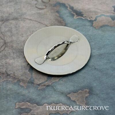 4 Celtic Dragons Nickel Silver Hair Tie NHT-8B 3
