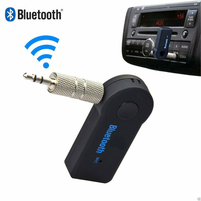 USB 3.5mm Bluetooth Wireless Aux Stereo Audio Music Car Adapter Receiver FT Mini 3