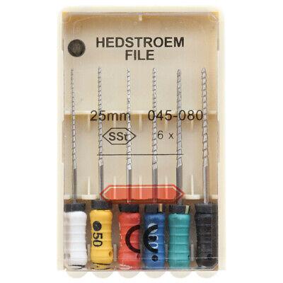 10 Packs Dental HEDSTROEM FILE 21/25/31mm Endodontic Hand Use Root Canal H Files 3