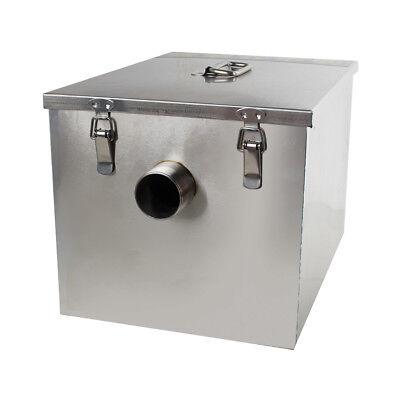 USA Stainless Steel Commercial Grease Trap Interceptor Filter Kit for Restaurant 8