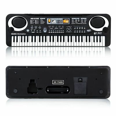 61 Keys Electronic Music Keyboard Organ Piano Set With Mini Microphone Kids Gift 6