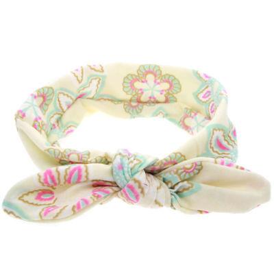 Baby Toddler Girls Kids Bunny Rabbit Bow Knot Turban Headband Hair Band Headwrap 9
