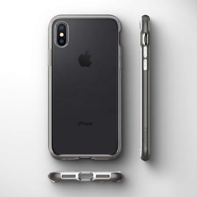 new arrival 84561 35d69 IPHONE X XS Case, Genuine SPIGEN Neo Hybrid Crystal Bumper Hard Cover for  Apple