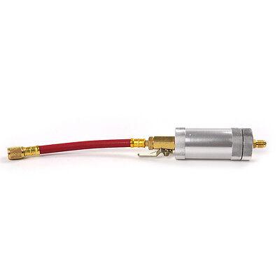 Car Auto 1//4SAE 2 OZ Oil Injector R134A R12 R22 A//C AC Oil/&Dye Injection Tool JS