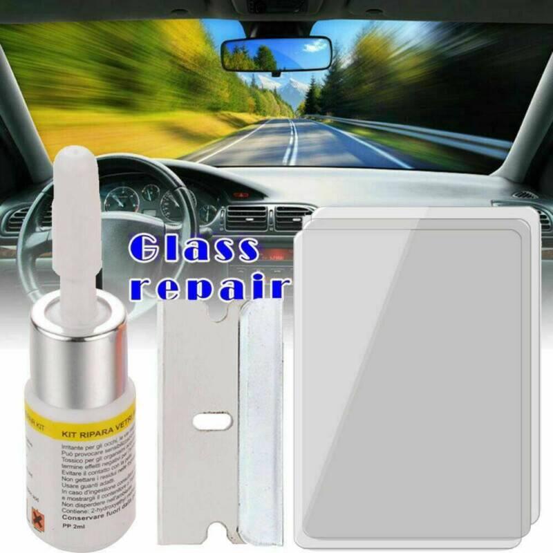 Auto Windshield Repair Kit Chips Crack Glass Resin Sealer Automotive Car Window# 2