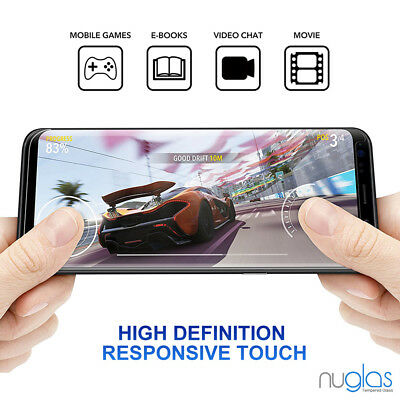 Samsung Galaxy S9 S8 Plus Note 9 8 NUGLAS Tempered Glass Full Screen Protector 3