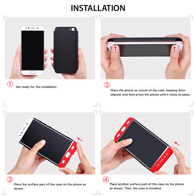 Thin Shockproof Slim Case + Screen Protector For Samsung Galaxy S10/S9/S8 Plus 10