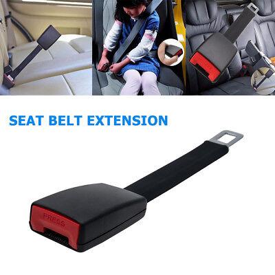 Universal coche Seatbelt Extender 25cm Extensor cinturon de seguridad Fuerte