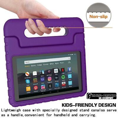 """For Amazon Fire 7"""" HD 8"""" Tablet ShockProof EVA Handle Kids Stand Cover Case +Pen 2"""