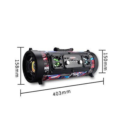 High Bass Ultra Loud Bluetooth Speakers Portable Wireless Speaker Outdoor/Indoor 5