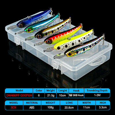 8pc Spoon Fishing Lure Metal Bassbait 8 Color 5.5cm//11g Spinners Fishing Tackle