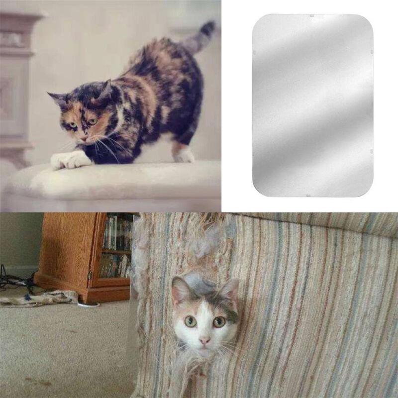 2Pcs Cat Scratch Guard Mat Pet Cat Scratching Post Furniture Sofa Seat Protector 3