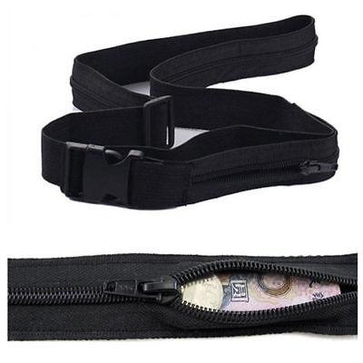 Unisex Stylish Money Belt Secret Pocket Hidden Security Travel Waist Money Belt 2