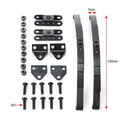 2//4 Stück 1//10 Blattfedern aus Edelstahl für F350 D90 Tamiya RC Crawler Parts