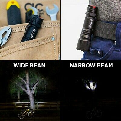 Ultrafire 350000LM Zoomable Tactical T6 LED Flashlight Torch Work Light Headlamp 11