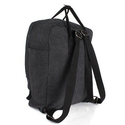 7cee342b5d737 ... Stern Rucksack Shopper Schul Tasche Canvas Jeans Stoff Schwarz Schulter  Backpack 4