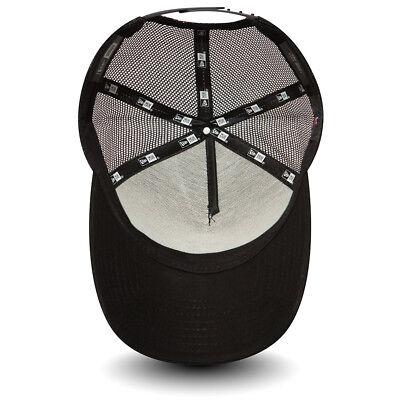 New Era Mens Baseball Cap.new York Yankees Mlb Black A Frame Mesh Trucker Hat 74 4