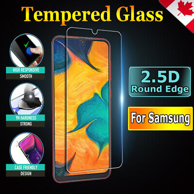 For Samsung Galaxy A30 A50 A70 A71 A10e A90 Tempered Glass Full Screen Protector 2