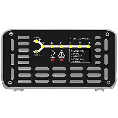 LOADCHAMP AUTOMATISCHES 10A 24V Batterie Akku Ladegerät AGM