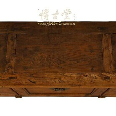 Antique Chinese Rustic Long Sideboard/Buffet Table, Credenza 10
