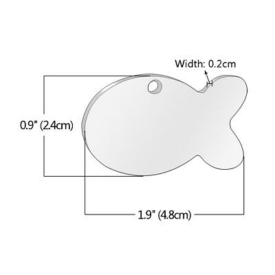 Stainless Steel Personalized Dog Tags Bone Round Military ID Name Tags Sliver 2