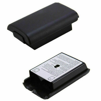 Black AA Battery Back Cover Case Shell Pack For Xbox 360 Wireless Controller USA 12