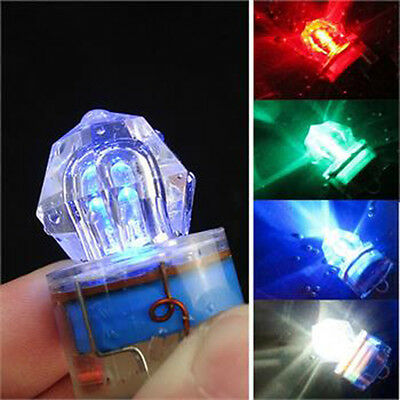 5pk Water Activated Deep Drop Underwater LED Fishing Flash Light Bait Lure Squid