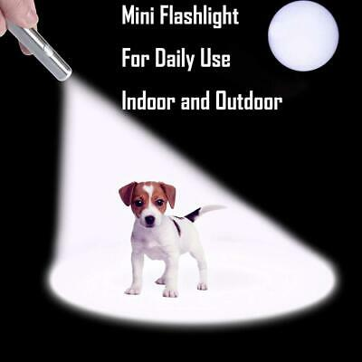 SUPER LASER POINTER USB ~ 3 in 1 Cat Pet Toy Rechargeable Red UV Flashlight 3