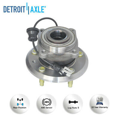 Rear Wheel Bearing And Hub Assembly Pair For Chevrolet Equinox Saturn Vue Captiva Sport Pontiac Torrent Suzuki XL-7