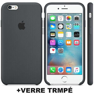 Cover Coque iPhone 6 7 8 Plus Xr Xs MAX X Slim Protection + Film Verre trempé 8