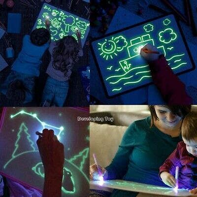 Draw With Light Fun And Developing Toy Drawing Board Magic Draw Educational 2019 2