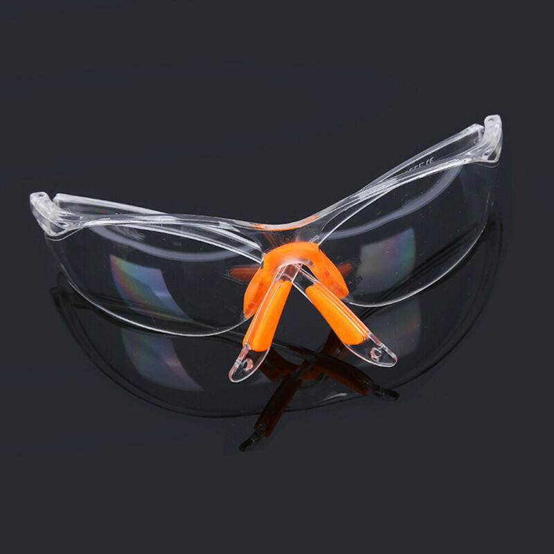 Eye Protective Glasses Clear Factory Anti-impact Goggles Safety Lab Outdoor Work 6