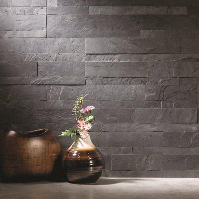 PEEL AND STICK Tile Self Adhesive Stone Slate Wall Kitchen ...