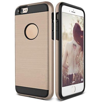 Dustproof Shockproof Slim Brushed Hybrid Rubber Hard Case For iPhone 5 5s SE 10