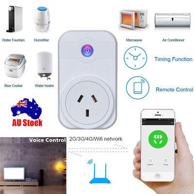 4 PCs Smart Plug WiFi Sockets Power Socket Amazon Alexa / Google Home AU STOCK 12