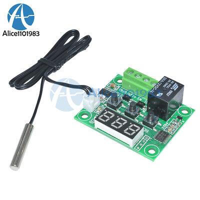 DC12V Red W1209 Digital thermostat Temperature Controler -50-110°C  + Sensor 2