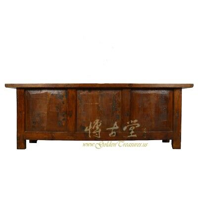 Antique Chinese Rustic Long Sideboard/Buffet Table, Credenza 11
