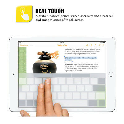 """Premium Clear Screen feel like a Paper Protector for iPad Pro 12.9""""(2018) 3Pcs 8"""