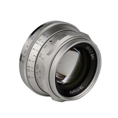 7artisans 35mm F/1.2 APS-C Camera Lens F Olympus Panasonic Mirrorless M4/3 Mount 2