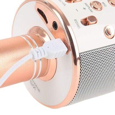Microfono Wireless Con Altoparlante Cassa Integrata Bluetooth Portatile Karaoke 5