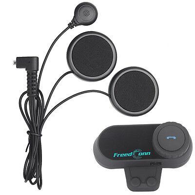 2set 800M FDC Soft Wire Bluetooth Headset Motorcycle Helmet Wireless Intercom