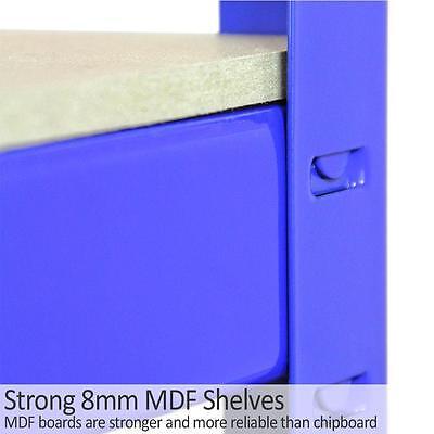 Garage Shelves 5 Tier Metal Shelving Heavy Duty Storage Racking Boltless 3 Bay 10