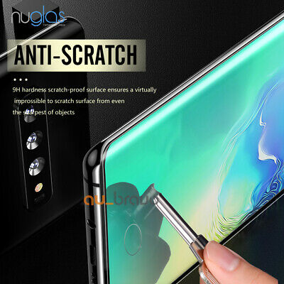 NUGLAS 3D Tempered Glass Screen Protector For Samsung Galaxy S10e S10 S10 Plus 5