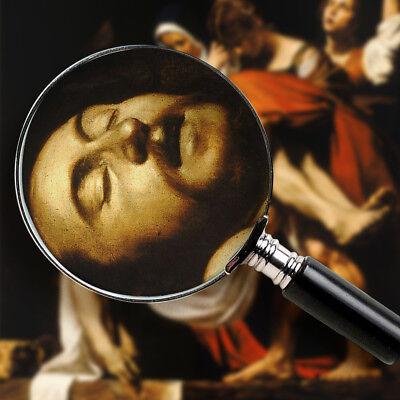 Caravaggio, Deposizione di Cristo - Stampa Fine Art HR su tela Canvas Pietà 4