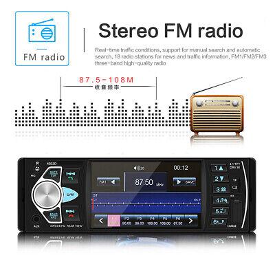 1Din Autoradio Mit Bildschirm Display Video Monitor Bluetooth Freisprech Usb Sd 10